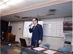 西枇杷島警察署で講演をさせていただきました。